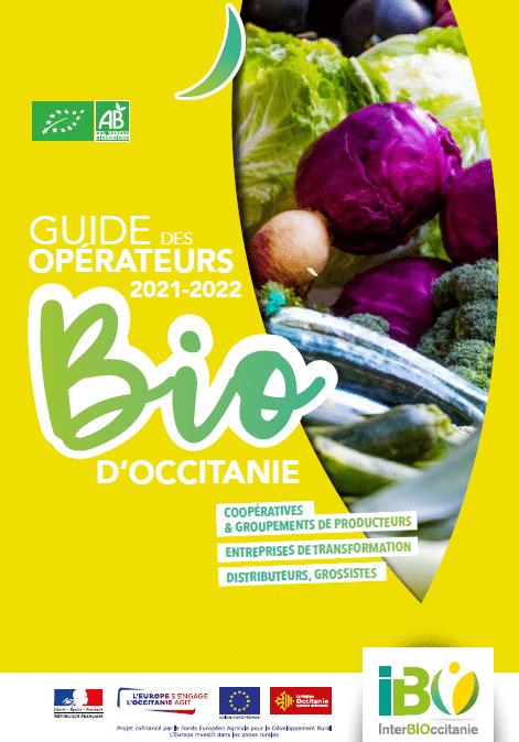 """Le nouveau """"Guide des opérateurs Bio d'Occitanie"""" est sorti ! 1"""